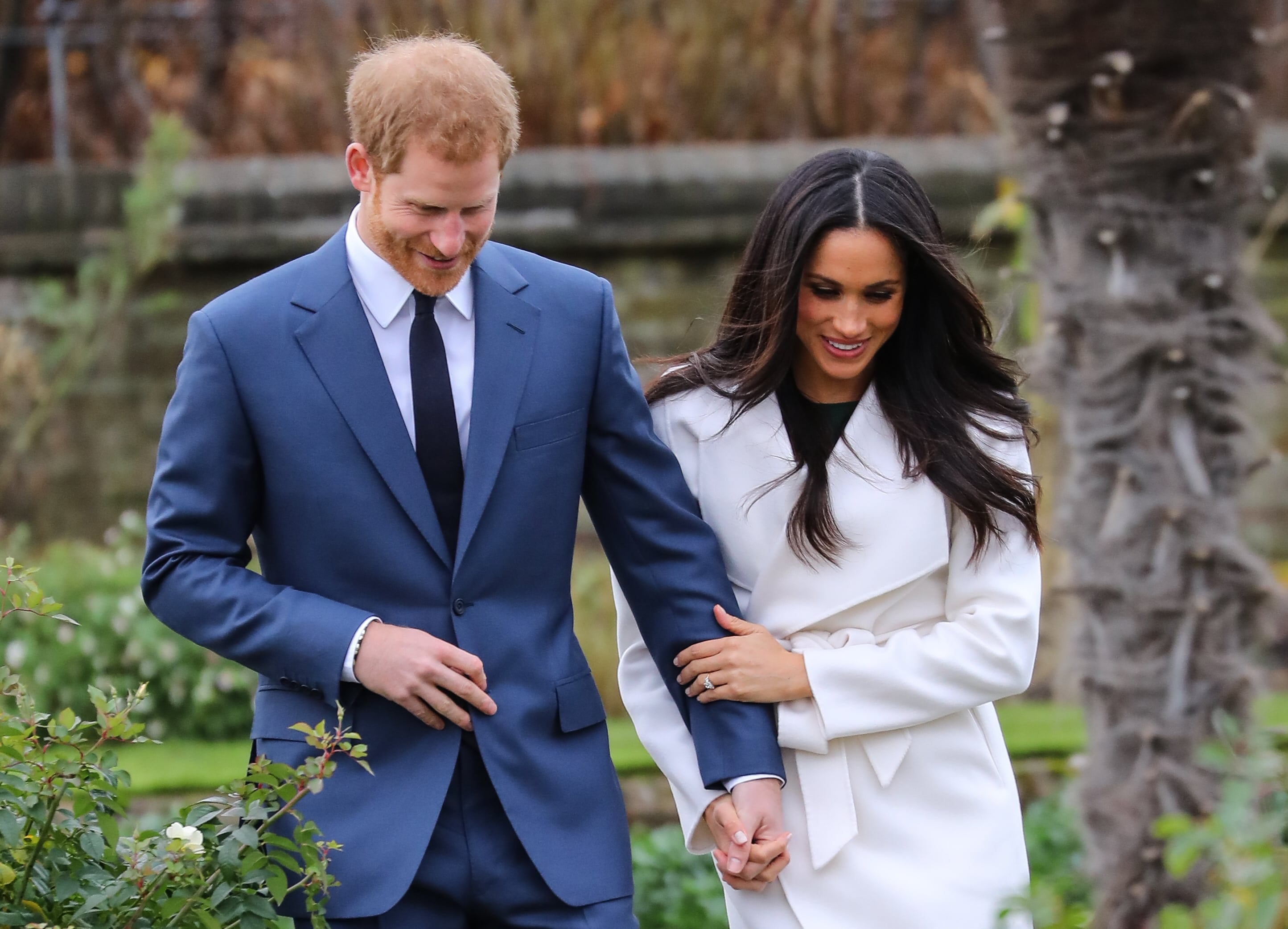 Prince Harry and Meghan Markle are officially engaged. (Photo: WENN)