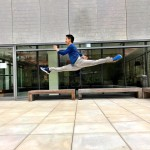 Alex Wong has proven to be a master of mixing dance and everyday activities. (Photo: Instagram)