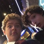 Gaten And Finn selfie. (Photo: Instagram)