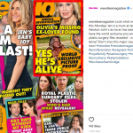 Australian magazine New Report published a photograph from a Mexican campsite, showing a shirtless Patrick lounging alongside a woman. (Photo: Instagram)