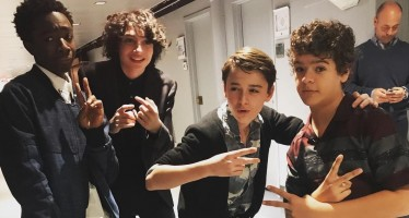 28 BTS Pictures That Will Make You Love The Stranger Things Cast Even More!