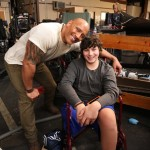 Dwayne Johnson met with his fan Marik. (Photo: Instagram)