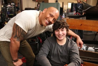 Dwayne Johnson Made The Dream Of A Special Fan Come True