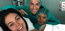 Cristiano Ronaldo Scores Again! CR7 Welcomes A Baby Girl