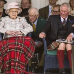 Not even the Queen can resist Prince Charles' contagious laughter! (Photo: WENN)