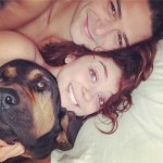 Sarah Hyland posted her most intimate Instagram yet with beau Wells (and his dog!) (Photo: Instagram)