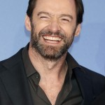 That beard is the perfect complement to Hugh Jackman's beautiful smile! (Photo: WENN)