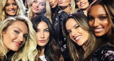 34 Behind-The-Scenes Instagrams Of The 2017 Victoria's Secret Fashion Show