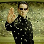 The Matrix (1999)— The famous slow-motion bullets and full camera rotation was handled by a Hong Kong movie and video game company - they even made their own camera just for the movie! It was rare to have such equipment in the late 90's, so this was a big deal in and of itself. (Photo: Release)