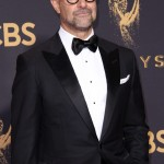 Stanley Tucci's sexiness comes partially from the fact that he's so comfortable in his skin—and that includes his bare, shiny scalp! (Photo: WENN)