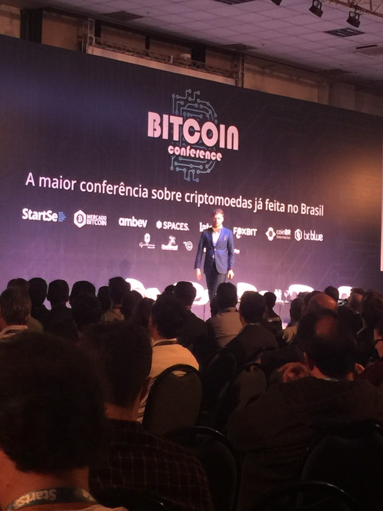 Jeremy travels the world evangelizing bitcoin. (Photo: JETSS)
