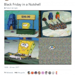 Black Friday in a nutshell. (Photo: Twitter)