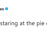 When she had a connection with pie crust. (Photo: Twitter)