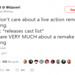 WE ALL CARE ABOUT THE NEW LIVE-ACTION REMAKE OF LION KING. (Photo: Twitter)