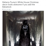 Is it normal that the Babadook makes it less scary? (Photo: Twitter)