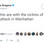 "Imagine Dragons called the tragic event a ""senseless attack"". (Photo: Twitter)"