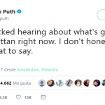 Charlie Puth felt speechless after the Manhattan attack. (Photo: Twitter)