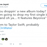 It took only one song and one Beyoncé. (Photo: Twitter)