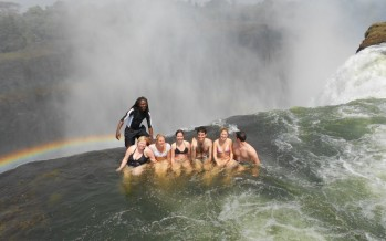 This 338-foot Waterfall Is The Most Hardcore Swimming Pool In The Entire World