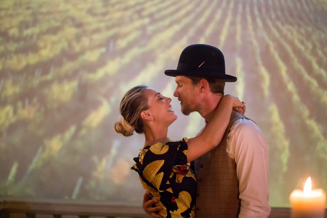 Kaley Cuoco and Karl Cook are engaged! (Photo: Instagram)