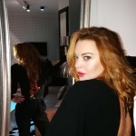 Lohan is also working on her own line of lipsticks and perfumes. (Photo: Instagram)