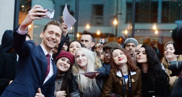 17 Celebrities Taking Selfies With Their Fans