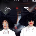 Sia *literally* knows how to twist things up! (Photo: WENN)