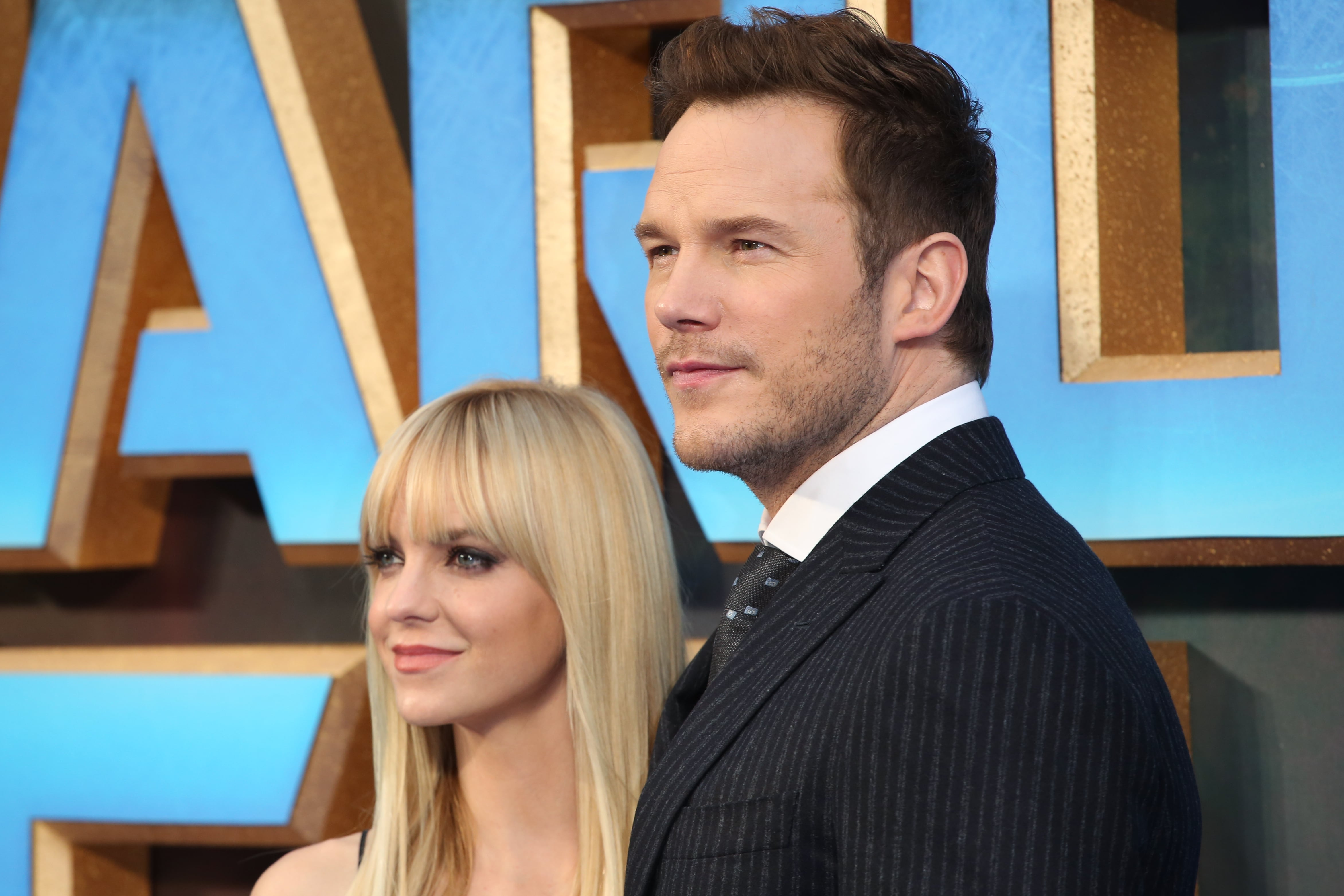 "Chris Pratt and Anna Faris' split is the Brangelina divorce of 2017! The couple took to Facebook to announce the news in a heartbreaking statement that said: ""We tried hard for a long time, and we're really disappointed…"" (Photo: WENN)"