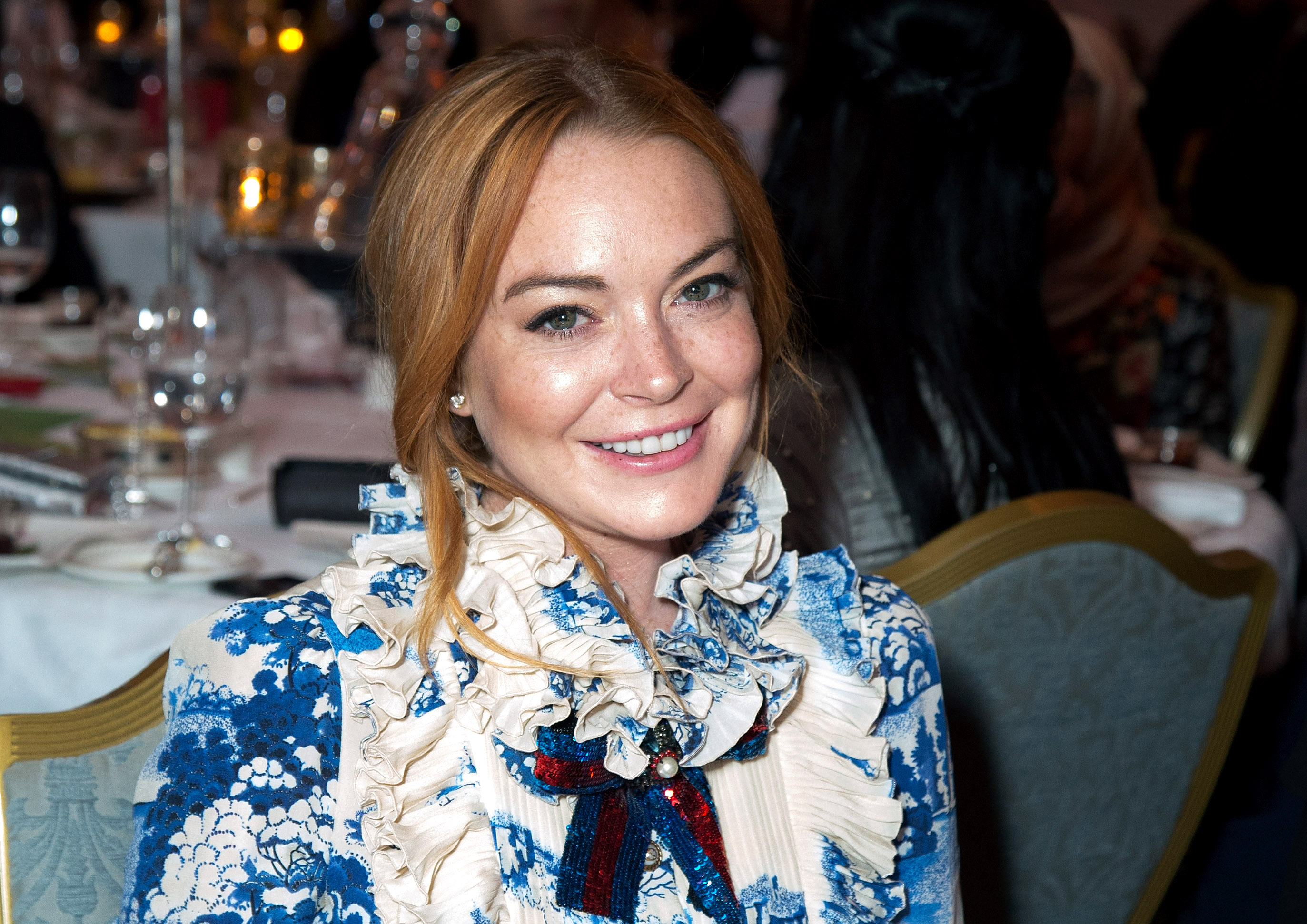 Lindsay Lohan spent a Christmas of terror over the weekend. (Photo: WENN)