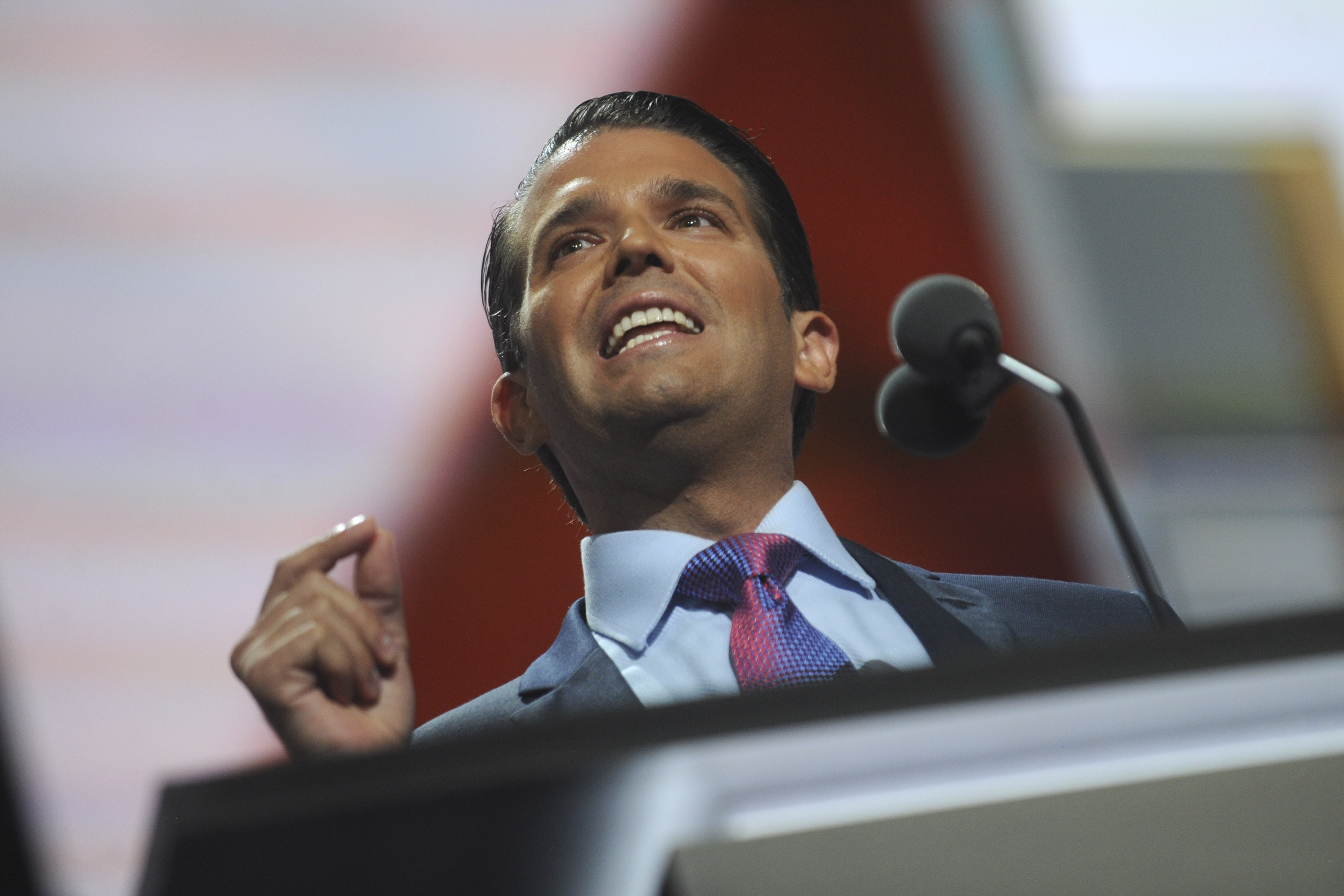 His full name is Donald John Trump Jr. (Photo: WENN)