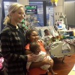 Jennifer Lawrence spent Christmas eve visiting children at the Norton Children's Hospital. (Photo: Instagram)
