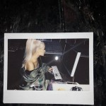 Almost immediately after, the singer posted a Polaroid photo of herself in the studio. (Photo: Instagram)