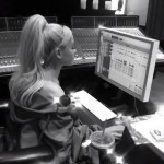 The picture was followed by a black and white video of Ariana, working on the recording studio. (Photo: Instagram)