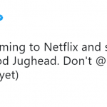 Netflix confirmed the news through its official Twitter account. (Photo: Twitter)