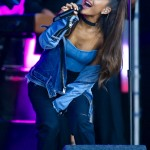 """""""I started an album already a year ago, over a year ago, but I want to keep creating, and it's not done yet,"""" Ariana said in October. (Photo: WENN)"""
