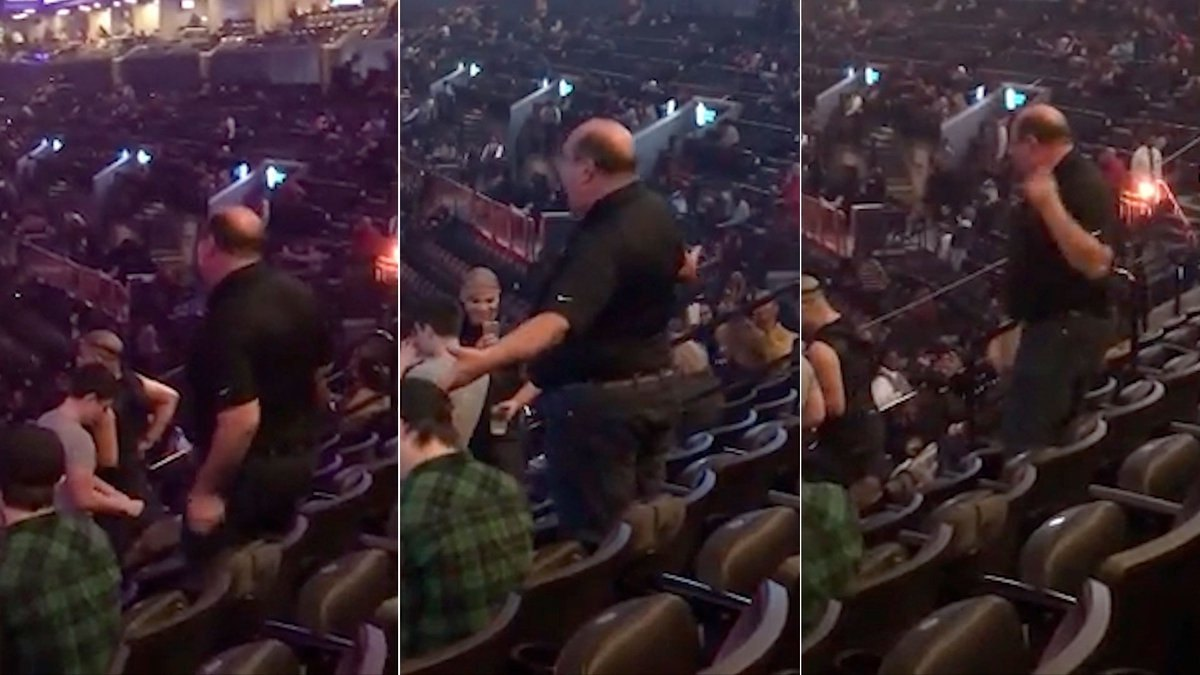 "John Lawless was caught on camera dancing the night away and showing off some serious dance skills while boogying to the Jackson 5 hit song ""I Want You Back"". (Photo: Facebook)"