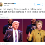 I mean, just put the thing on a pant suit and you'll see! (Photo: Twitter)