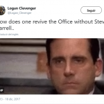 "NBC: We're bringing ""The Office"" back ME: That's amaiz…. NBC: Without Steve Carell ME:… (Photo: Twitter)"