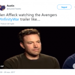 I guess there's only a few people who aren't so thrilled about Avengers: Infinity War (Photo: Twitter)