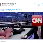 Donald Trump encouraging violence against media. (Photo: Twitter)