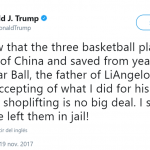 When he regretted saving an American citizen and bringing him home because he was too ungrateful. (Photo: Twitter)
