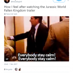Let's follow Michael Scott's frantic instructions here and stay calm. (Photo: Twitter)