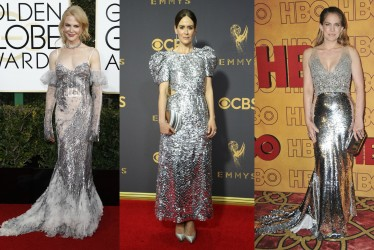 Holiday Inspiration: Best Silver Dresses In Red Carpet History