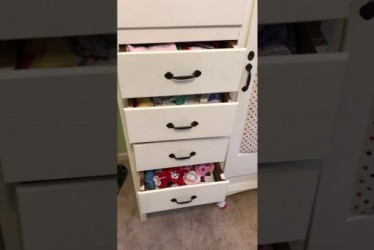 This Little Boy Managed To Get Stuck Inside Drawers