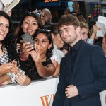 "Daniel Radcliffe at the special fan screening of ""Wat If"" in New York. (Photo: WENN)"