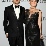 In September, Aaron Paul revealed that he and his wife Lauren Parsekian are expecting their first child together, a baby girl. (Photo: WENN)