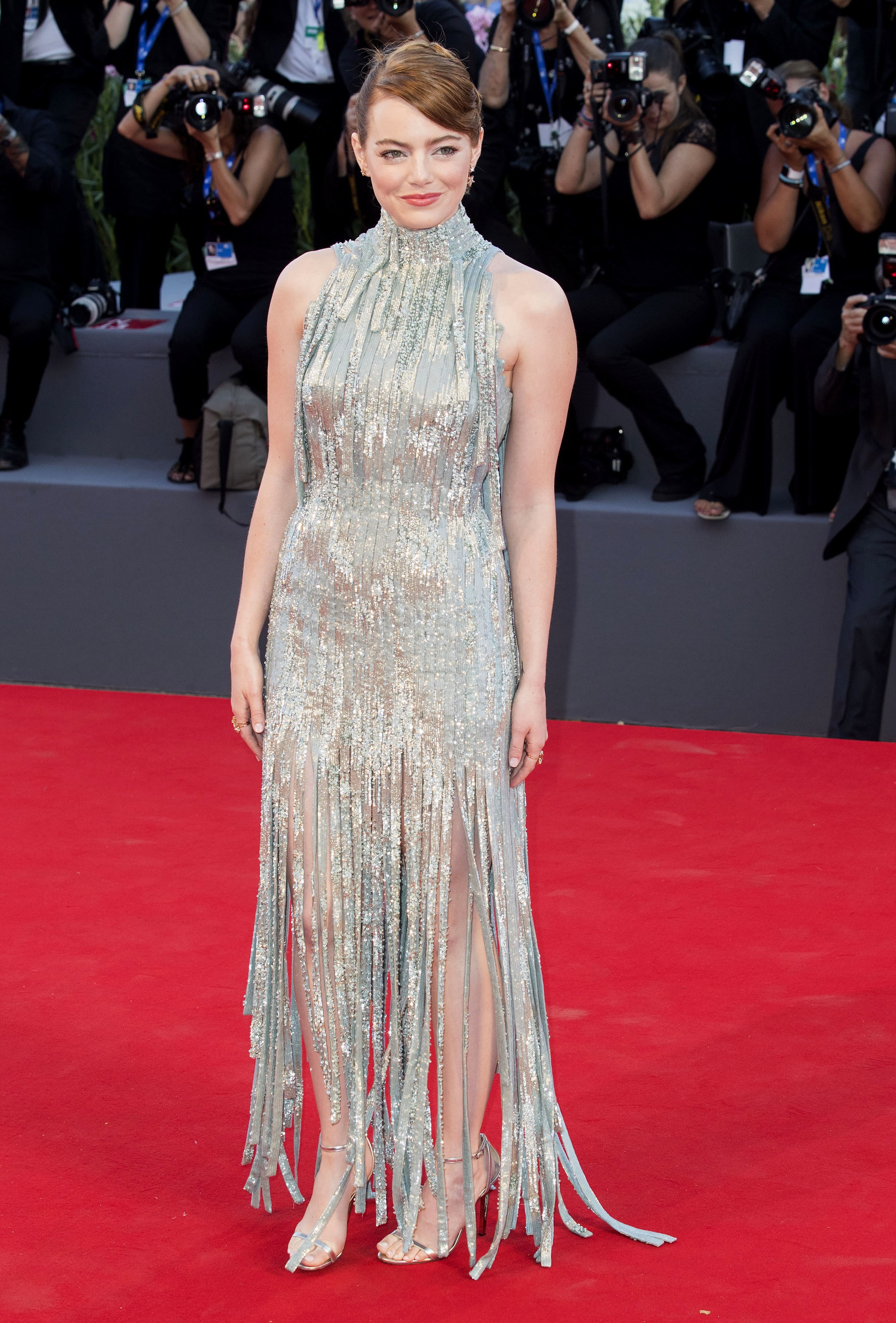 Holiday inspiration best silver dresses in red carpet history jetss - Silver red carpet dresses ...