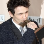James Franco after winning Best Male Lead at the 26th Film Independent Spirit Awards. (Photo: WENN)
