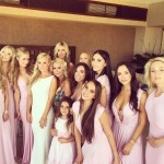 Paris Hilton at her cousin Brooke Brinson's Mexico wedding? That's hot! Specially if the rest of the bridesmaids include Nicky Hilton and Kyle Richards' daughters! (Photo: Instagram)
