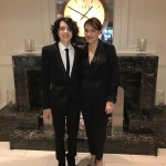 Finn Wolfhard also shared a picture with his mom right before the award ceremony. (Photo: Instagram)